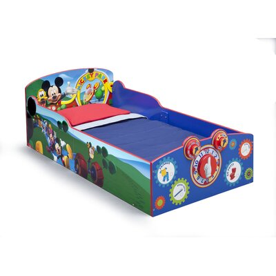 Mickey Mouse Interactive Wood Toddler Bed by Delta Children