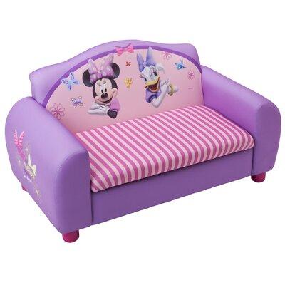 Delta Children Disney Minnie Mouse Kids Sofa