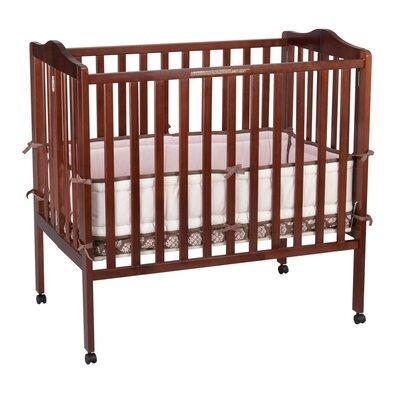 Delta Children Portable Mini Convertible Crib with Mattress Crib 4470_100