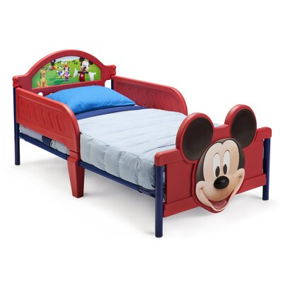 Disney Mickey Mouse 3D Convertible Toddler Bed by Delta Children