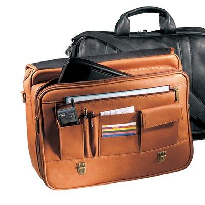 Andrew Philips Vaqueta Napa Statesman Leather Laptop Briefcase