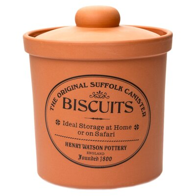Henry Watson Original Suffolk 80-Ounce Biscuit Canister