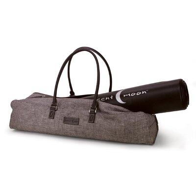 Crescent Moon Metro Yoga Bag in Brown / Brown