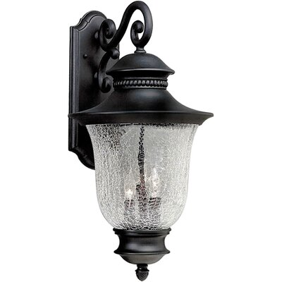 Forte Lighting 3 Light Wall Lantern