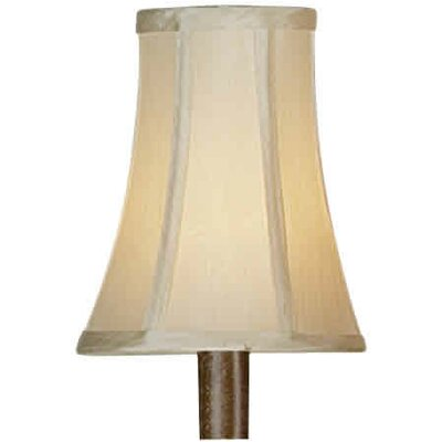 "Forte Lighting 5.25"" Fabric Bell Lamp Shade"