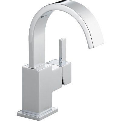 Vero Single Hole bathroom Faucet with Metal Pop Up Drain Product Photo