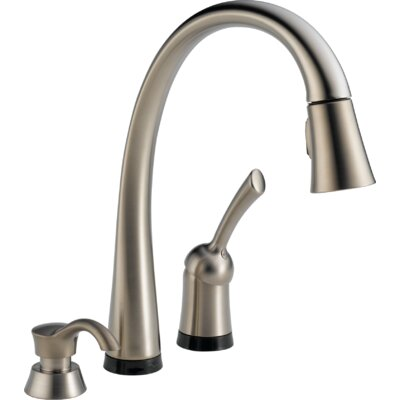 Pilar Single Handle Deck Mounted Kitchen Faucet Product Photo