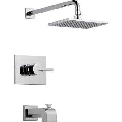 Vero Tub and Shower Faucet Trim with Lever Handles Product Photo