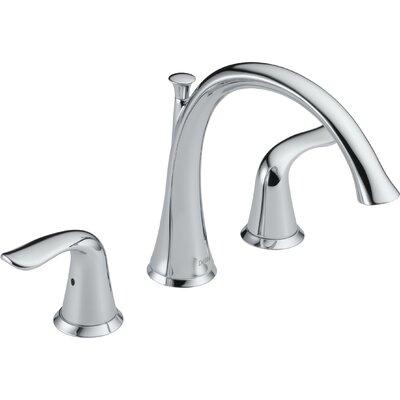 Lahara Double Handle Deck Mount Roman Tub Faucet Trim Product Photo