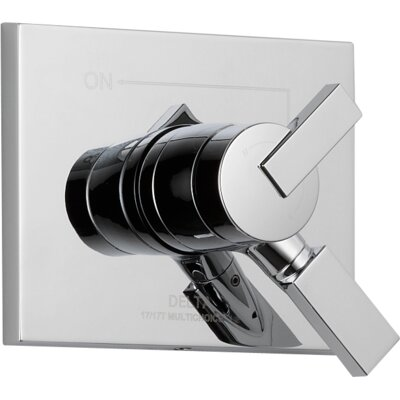 Vero Diverter Faucet Trim with Lever Handles Product Photo
