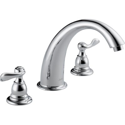 Windemere Double Handle Deck Mount Roman Tub Faucet Trim Product Photo