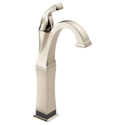 Dryden Single Handle Vessel Lavatory Faucet with Touch2O.xt Technology by Delta