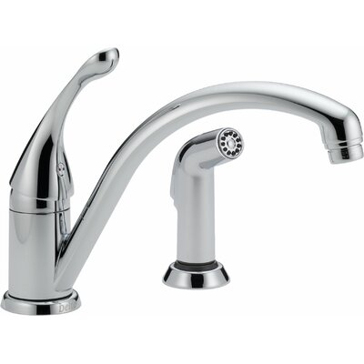 Collins Single Handle Deck Mounted Kitchen Faucet with Integrated Supply Tubes Product Photo