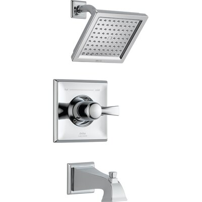 Dryden Monitor Pressure Balance Tub and Shower Faucet Trim with Lever Handles Product Photo