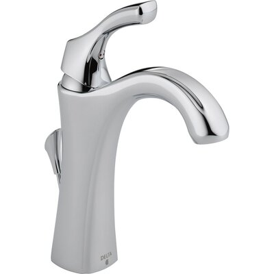 Addison Single Hole Bathroom Faucet with Diamond Seal Technology with Metal Pop-Up Drain Product Photo