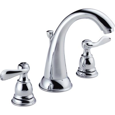 Windemere Widespread Bathroom Faucet with Double Lever Handles Product Photo