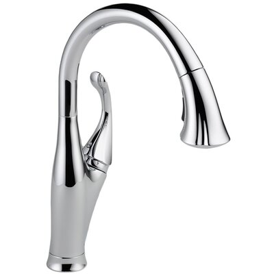 Addison Single Handle Deck Mounted Kitchen Faucet by Delta