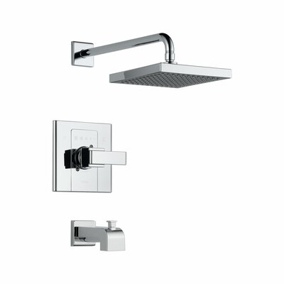 Arzo Tub and Shower Faucet Trim with Lever Handles Product Photo