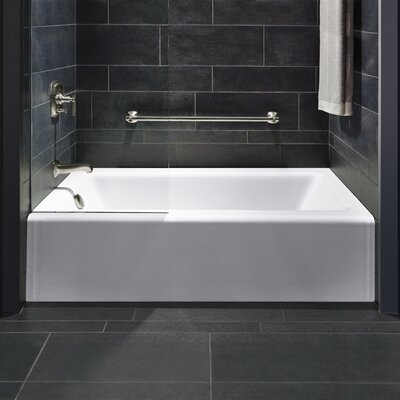"Bellwether Alcove 60"" x 32"" Soaking Bathtub Product Photo"