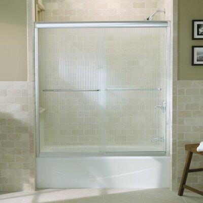 "Fluence 58.31"" x 59.63"" Sliding Bath Door Product Photo"