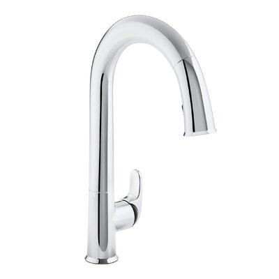 Sensate Touchless Kitchen Faucet with 15-1/2