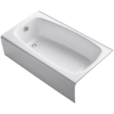 "Seaforth Alcove 54"" x 31"" Soaking Bathtub Product Photo"