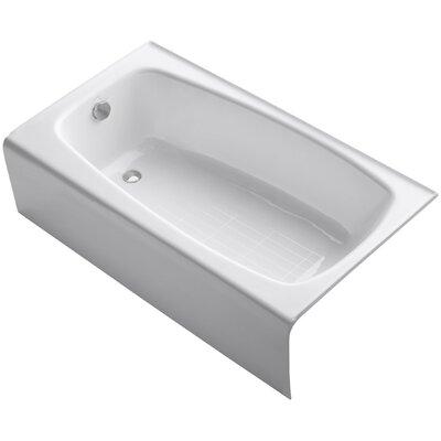 """Seaforth Alcove 54"""" x 31"""" Soaking Bathtub Product Photo"""