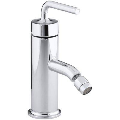 Purist Horizontal Swivel Spray Aerator Bidet Faucet with Straight Lever Handle by Kohler