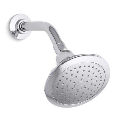 Memoirs 2.5 GPM Single-Function Wall-Mount Shower Head with Katalyst Air-Induction Spray Product Photo