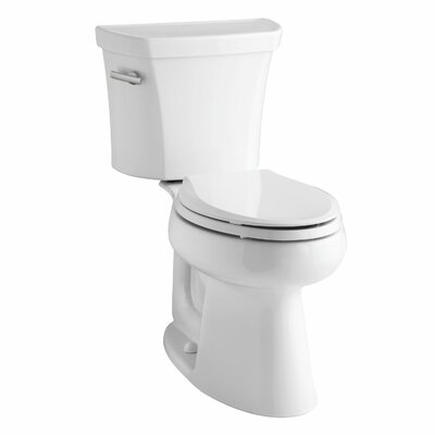 Highline Comfort Height Two-Piece Elongated 1.6 GPF Toilet with Class Five Flush Technology, Left-Hand Trip Lever and... Product Photo