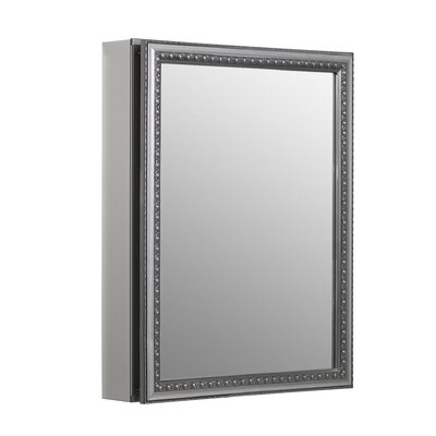 "20"" x 26"" Aluminum Mirrored Medicine Cabinet Product Photo"
