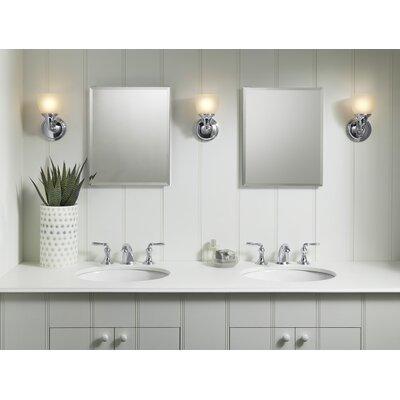 """Kohler 16"""" x 20"""" Aluminum Mirrored Medicine Cabinet"""
