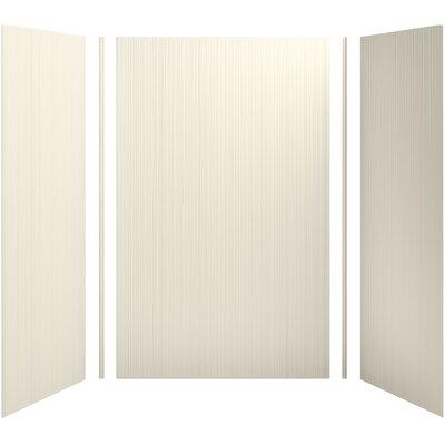"Choreograph 60"" x 36"" x 96"" Shower Wall Kit, Brick Texture Product Photo"