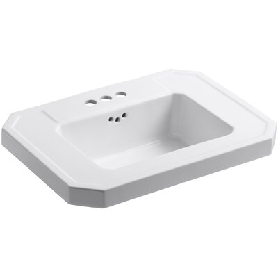 Kathryn Bathroom Sink Basin with 4