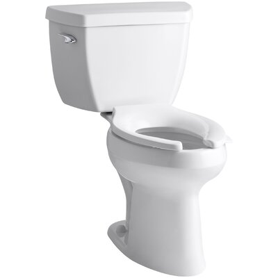 Highline Classic Comfort Height Two-Piece Elongated 1.6 GPF Toilet with Pressure Lite Flush Technology and Left-Hand ... Product Photo