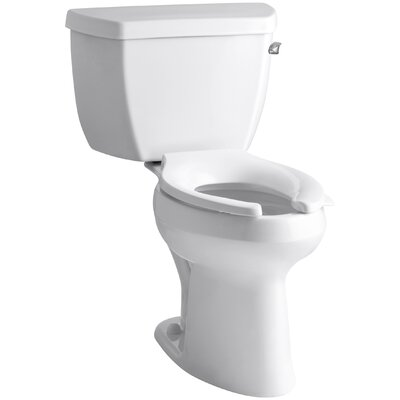 Highline Classic Comfort Height Two-Piece Elongated 1.6 GPF Toilet with Pressure Lite Flush Techology and Right-Hand ... Product Photo