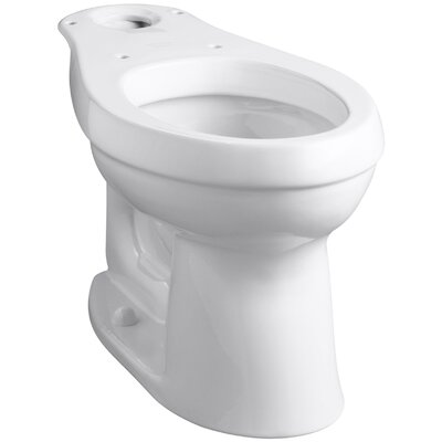 Cimarron Comfort Height Elongated Toilet Bowl with Class Five Flushing Technology Product Photo