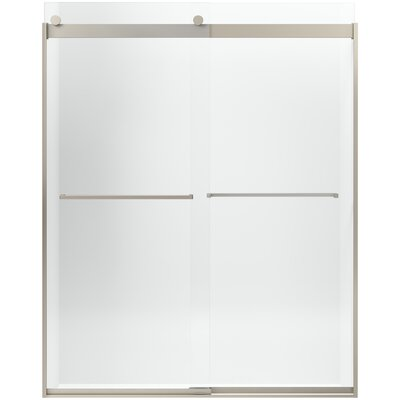 Levity Front Sliding Glass Panel and Assembly Kit for Shower Door Product Photo