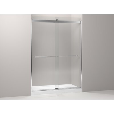 Levity Rear Sliding Glass Panel and Assembly Kit for Shower Door Product Photo