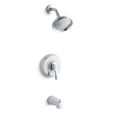 Fairfax Rite-Temp Pressure-Balancing Bath and Shower Faucet Trim with Lever Handle and Slip-Fit Diverter Spout, Valve... Product Photo