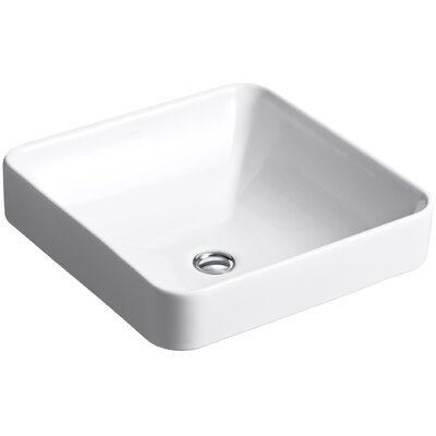 Vox Square Vessel Above-Counter Bathroom Sink Product Photo
