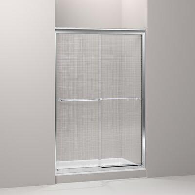 "Fluence 70.31"" x 47.63"" Sliding Shower Door Product Photo"