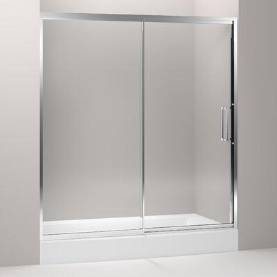 "Lattis 76"" x 72"" Pivot Shower Door Product Photo"