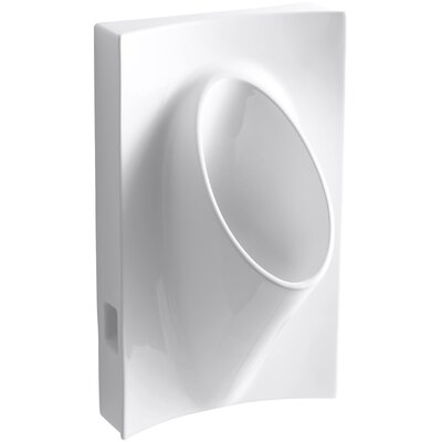 "Kohler Steward Waterless 19-1/8"" Wide x 31-7/8"" High x 15-7/8"" Deep Wall-Mount Urinal"