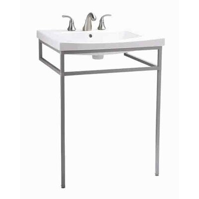 "Persuade Vanity-Top Bathroom Sink with 8"" Widespread Faucet Holes / Persuade Console Table Product Photo"
