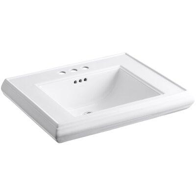Memoirs Pedestal Bathroom Sink Basin with 4