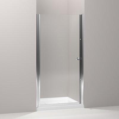 "Fluence 65.5"" x 34"" Pivot Shower Door Product Photo"