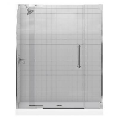 "Purist 72.25"" x 59.75"" Pivot Shower Door Product Photo"