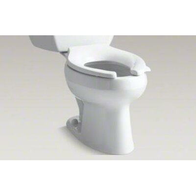 Wellworth Classic Two-Piece Elongated 1.0 GPF Toilet with Pressure Lite Flushing Technology with Right-Hand Trip Leve... Product Photo