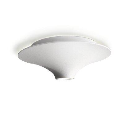 philips consumer luminaire 1 light flush mount reviews wayfair. Black Bedroom Furniture Sets. Home Design Ideas